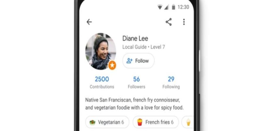 Google Maps permite seguir perfiles de usuario