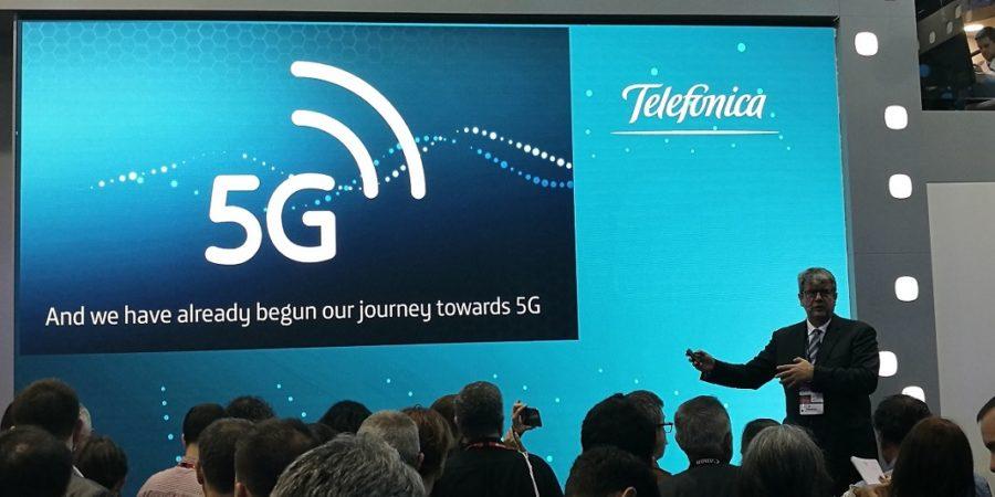 Telefónica anuncia la llegada del servicio 5G de Movistar