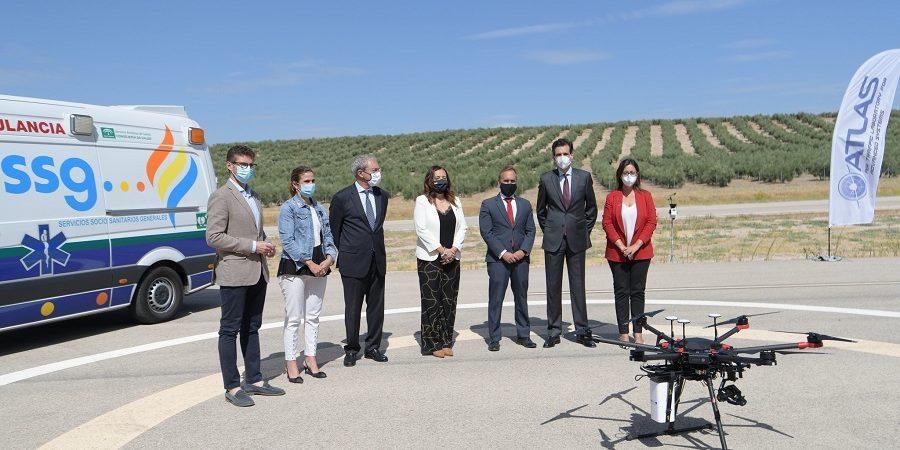 Vodafone realiza el primer vuelo de un dron de emergencias vía 5G