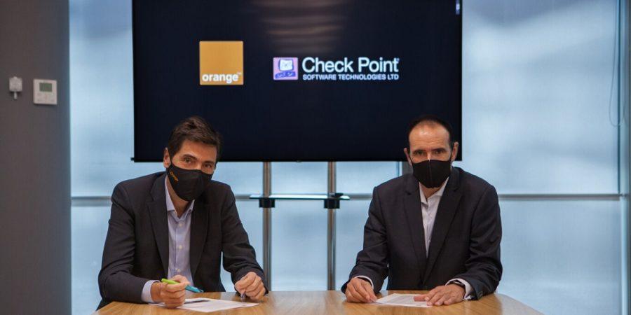 Orange ofrecerá servicios de seguridad de Check Point a teletrabajadores