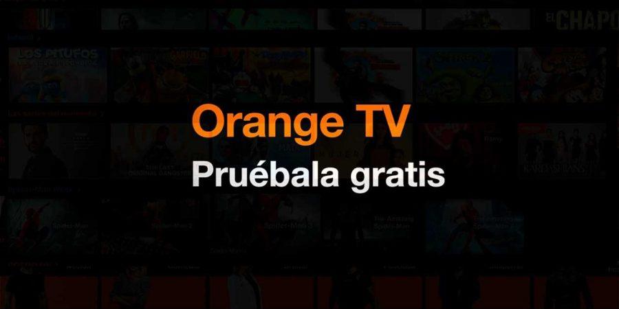 Orange TV gratis durante un mes para nuevos clientes