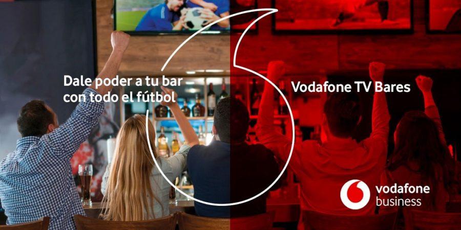 Vodafone TV lanza un paquete de fútbol para bares