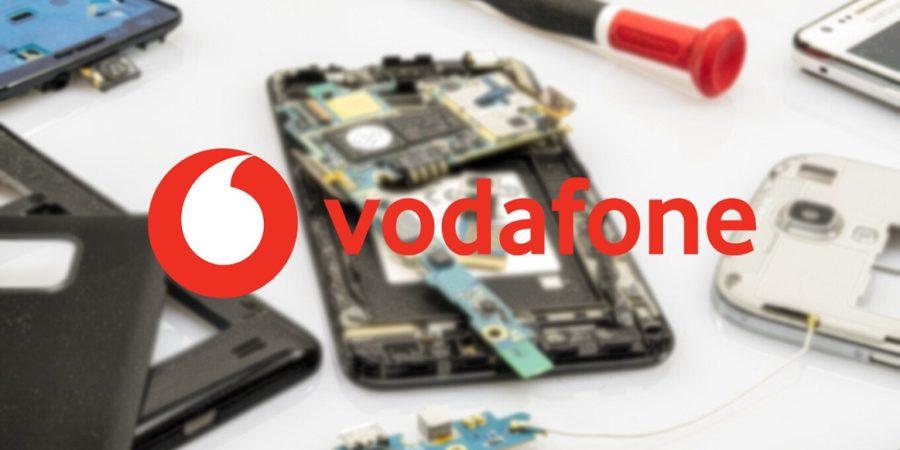 Vodafone presenta su nuevo servicio de reparación de móviles a domicilio