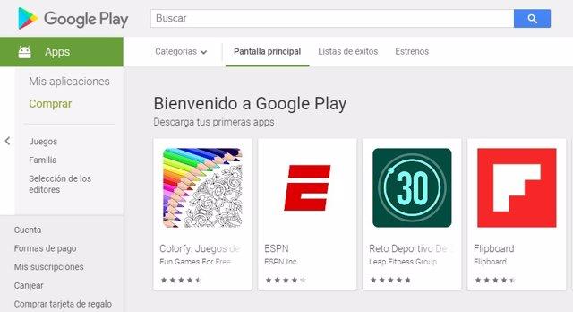 Google retira de Play Store tres 'apps' para niños por recopilar datos violando las normas de la tienda