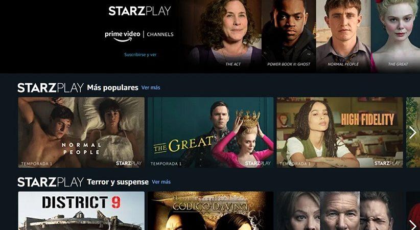 Amazon Prime Video lanza sus canales de pago en España