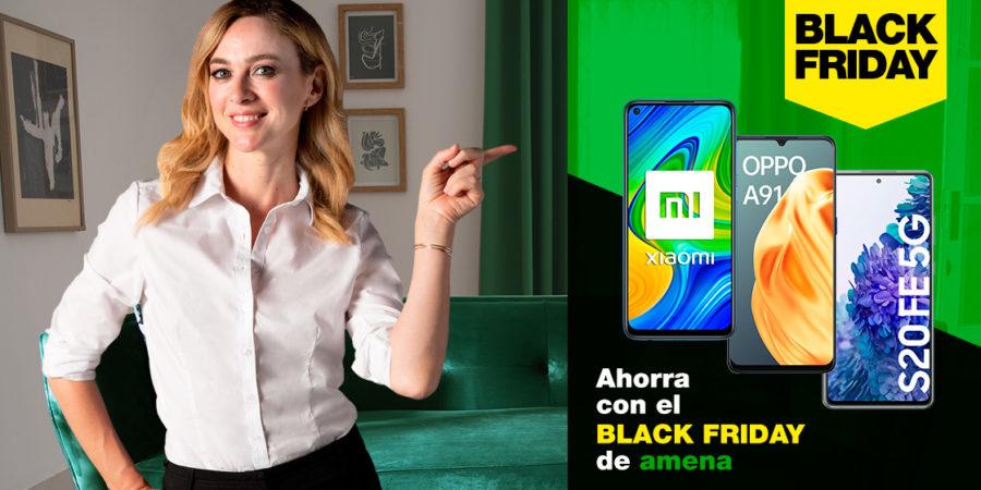 Amena anticipa el Black Friday con descuentos en varios móviles