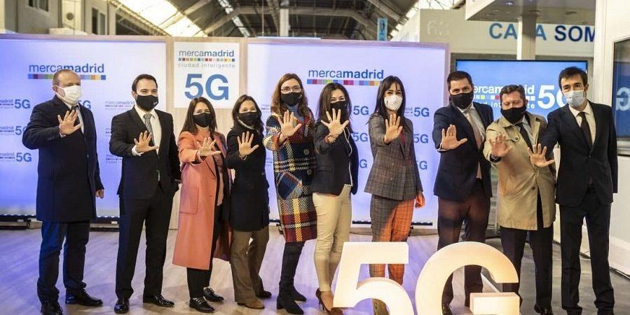 Mercamadrid y Orange encienden el primer mercado 5G de España