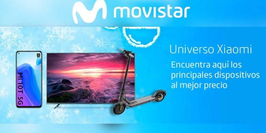 Movistar ofrecerá una sección exclusiva de dispositivos Xiaomi en su tienda