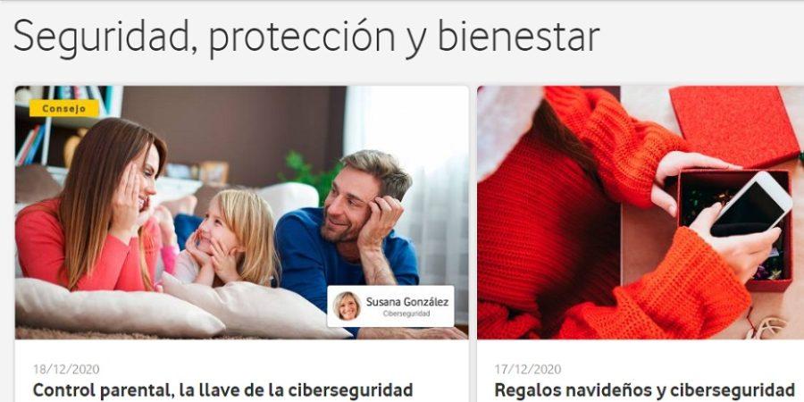 Vodafone presenta Internet Seguro, su nueva plataforma online