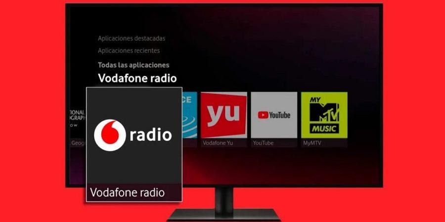 Vodafone TV presenta su app Radio con unas 100 emisoras