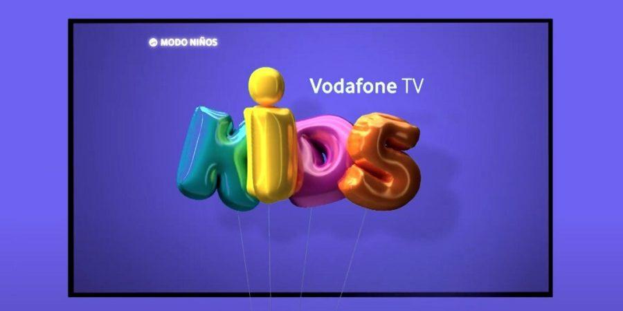 Vodafone presenta el nuevo Modo Niños de Vodafone TV