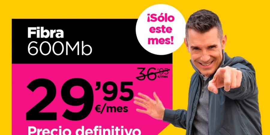 Jazztel rebaja su fibra y ofrece 600 Mbps por sólo 30 euros