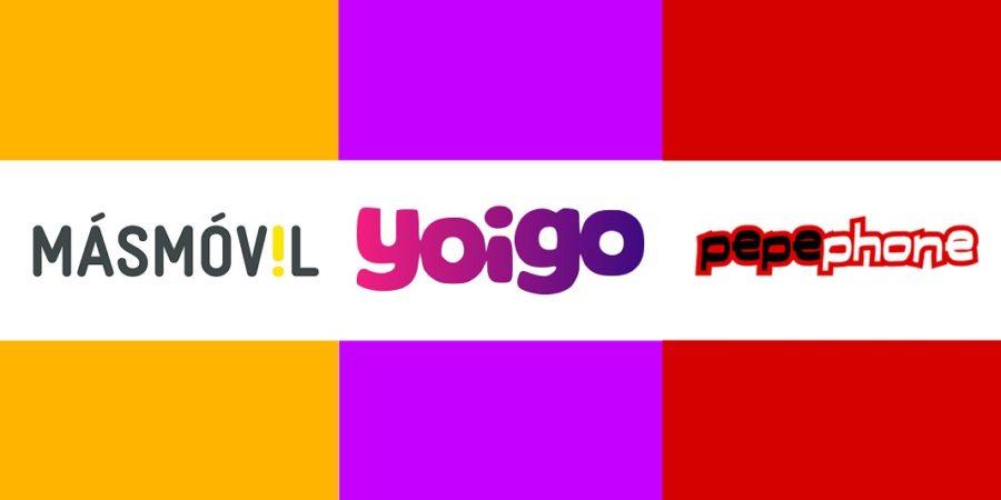 Caídos los servicios de MásMóvil, Pepephone y Yoigo