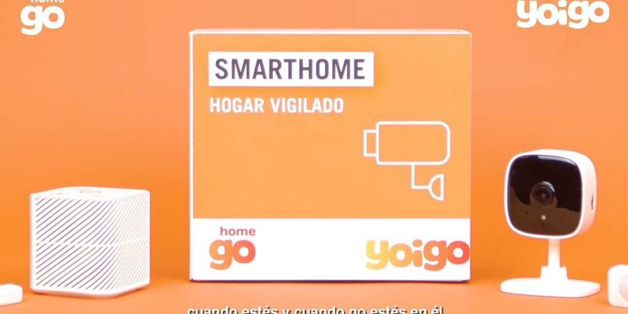 Yoigo Smart Home, alarma con cámara y Alexa por apenas 10 euros