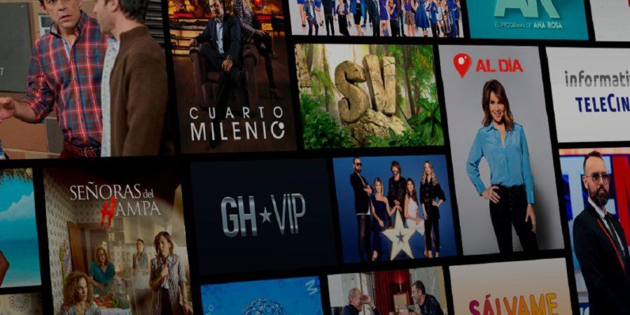Mitele se consagra como la plataforma de televisión más vista de 2020