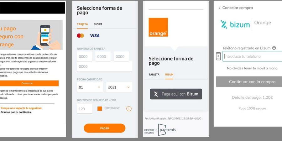 Orange te permitirá pagar tus móviles o tarifas con Bizum