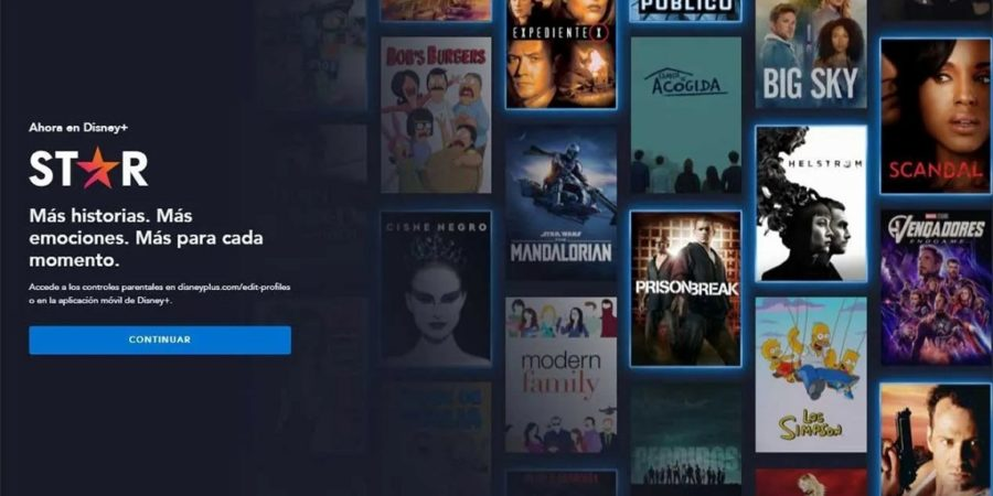 Star y sus contenidos para adultos, ya disponibles en Disney+