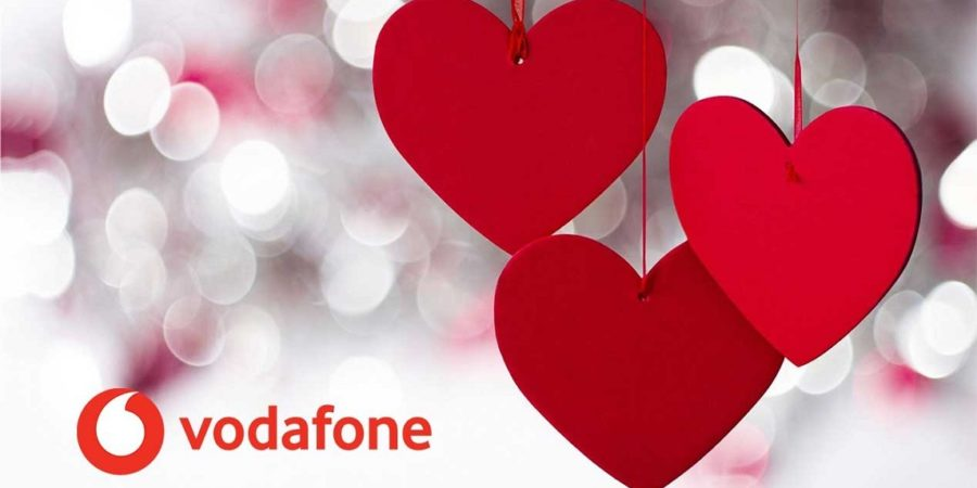 Vodafone regala hasta 15GB extra en febrero por San Valentín