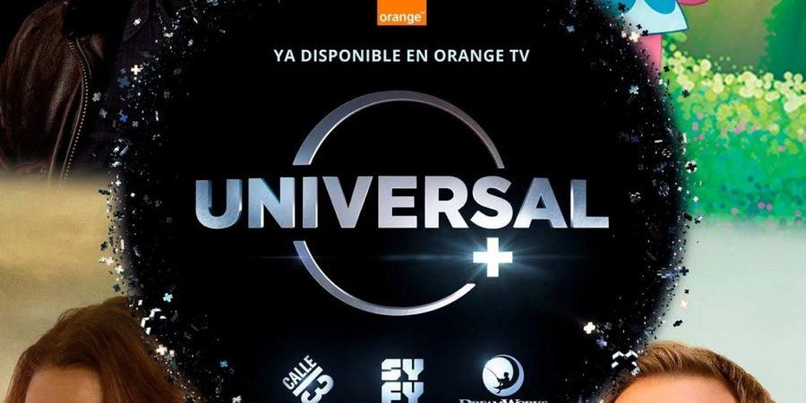 Universal+ y el nuevo canal Dreamworks llegan a Orange TV
