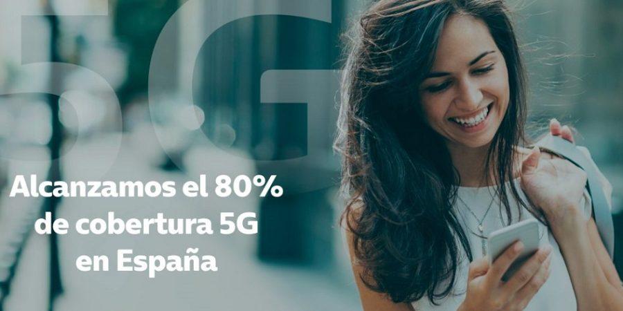 El 5G de Telefónica ya comprende al 80% de la población