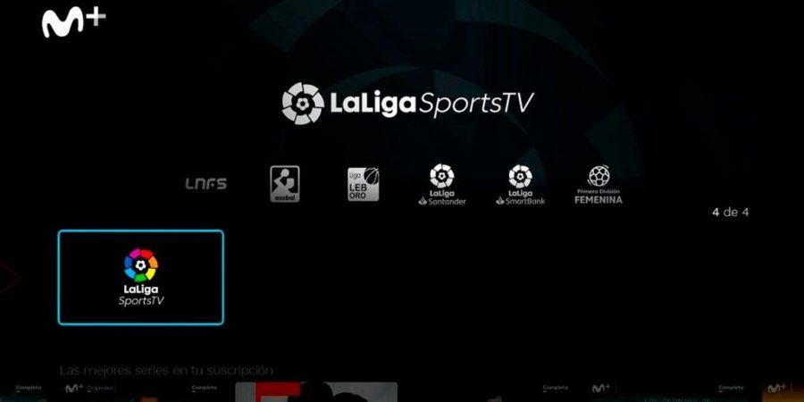 Movistar+ añade la aplicación LaLigaSportsTV a su servicio