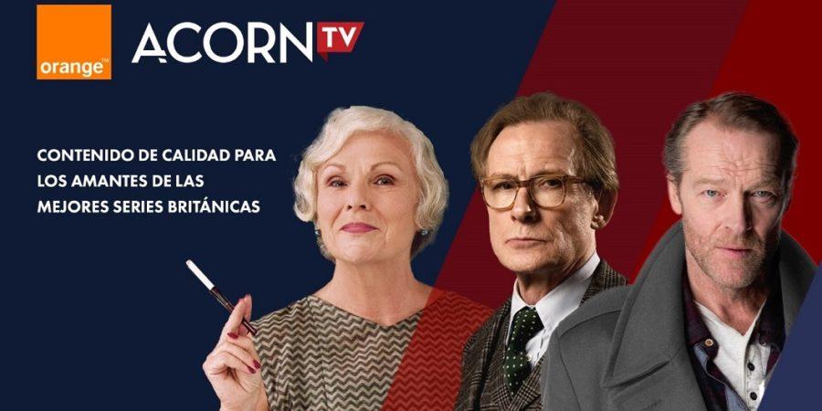 Orange refuerza su oferta televisiva con Acorn TV