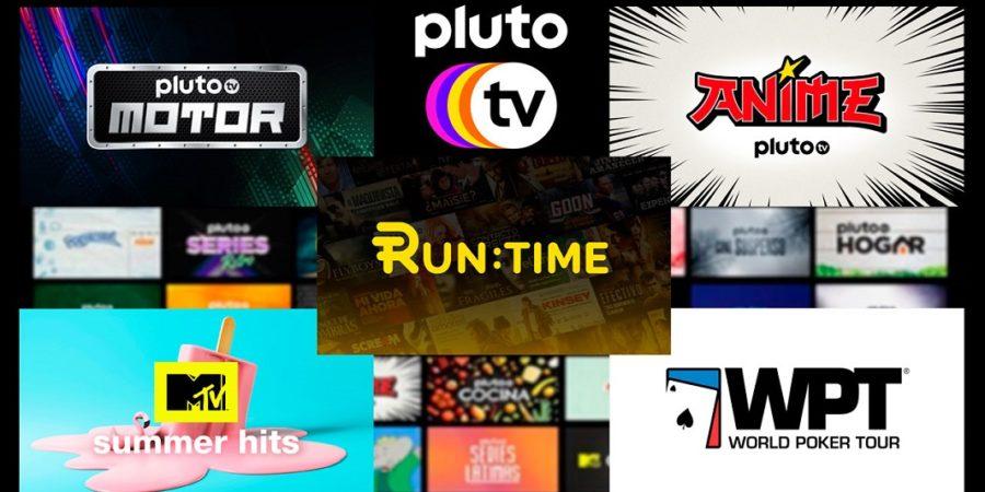 Pluto TV anuncia canales de cine, motor, anime, música y póker