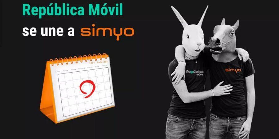 República Móvil se integrará en Simyo el 11 de junio