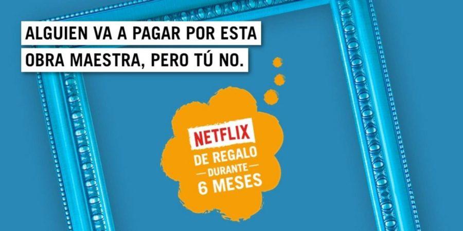 Seis meses de Netflix gratis, la última promoción de Yoigo