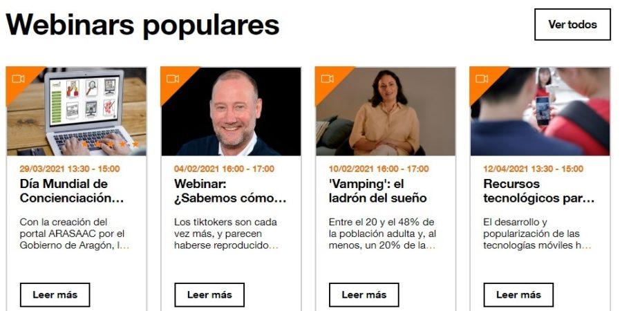 Orange estrena su plataforma educativa online, Orange Digital Center