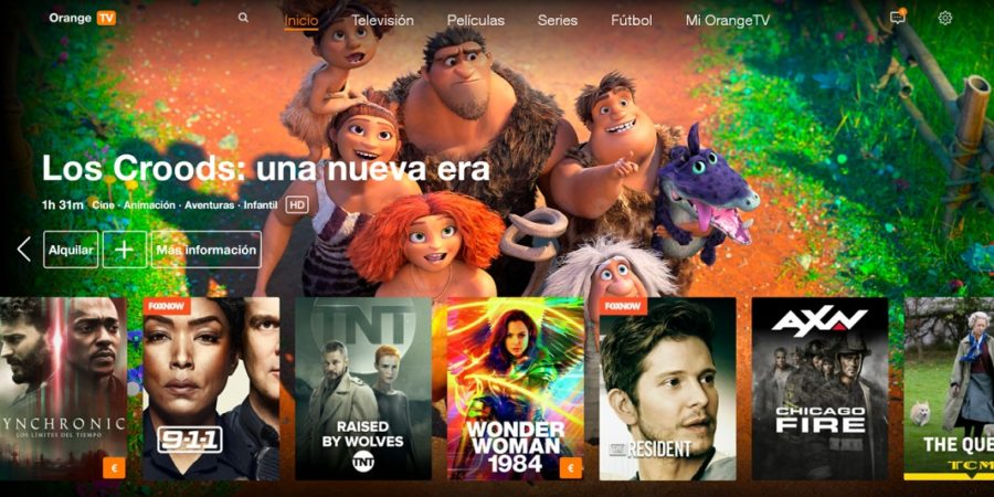 Orange TV presenta una nueva interfaz personalizable, sencilla y flexible