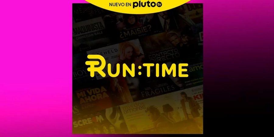 Pluto TV suma RunTime, un canal dedicado a las películas y series