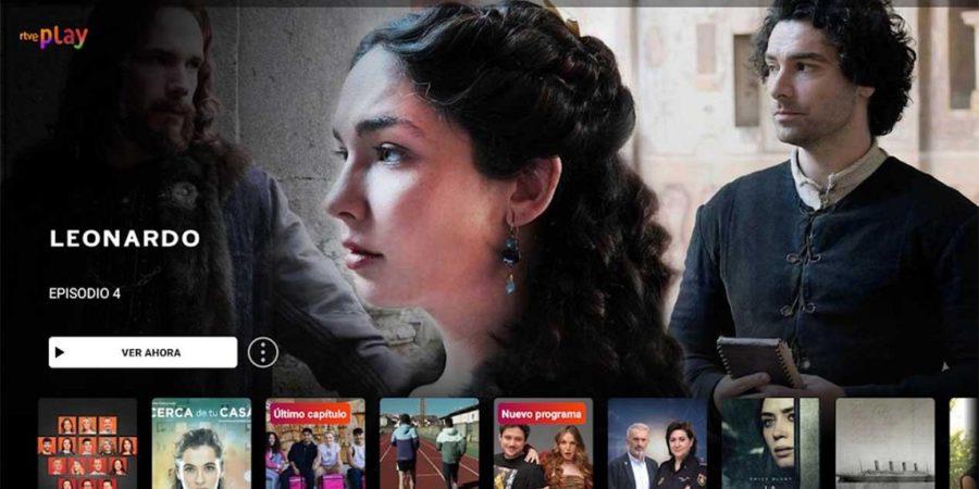 RTVE Play, la nueva plataforma a la carta de RTVE, lanzada oficialmente