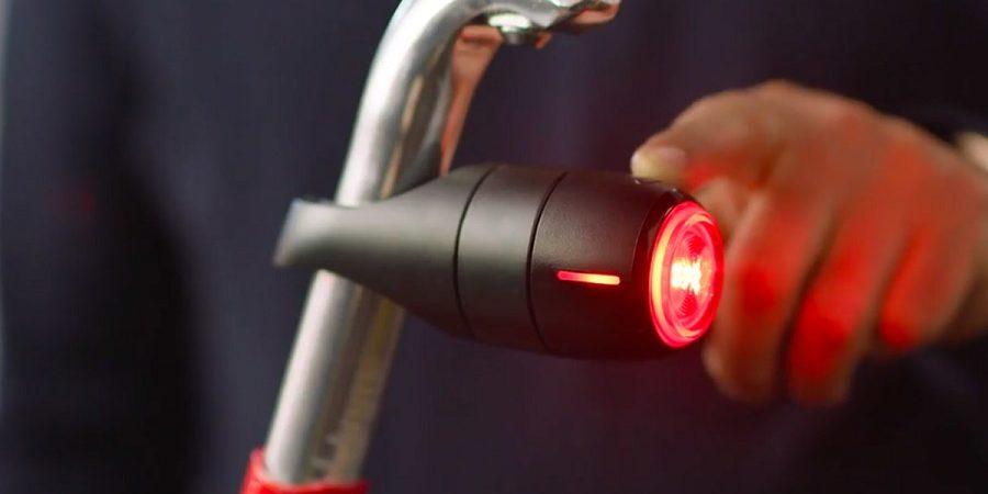Vodafone Curve Bike Tracker, la luz inteligente con localizador GPS para ciclistas
