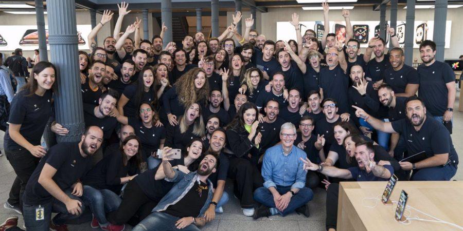 Apple aumenta en un 20% su plantilla en España