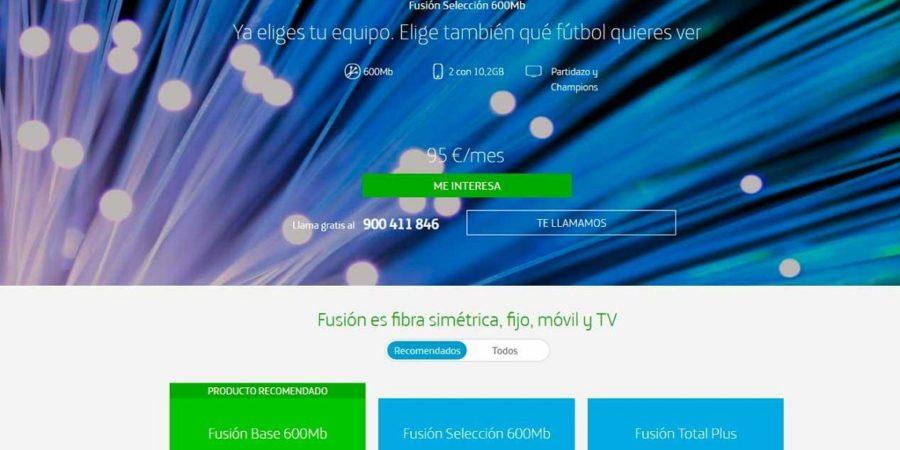 La CNMC exige a Telefónica que aclare los términos de sus tarifas Fusión