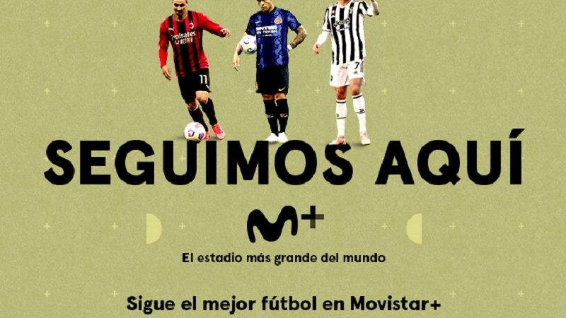 Movistar se queda con la Serie A por las próximas tres temporadas