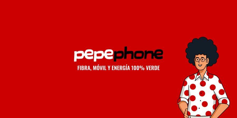 Pepephone ofrece descuentos de fibra y móvil si contratas la luz con ellos