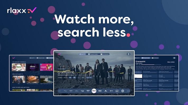 rlaxx TV llega a España para competir con el exitoso Pluto TV