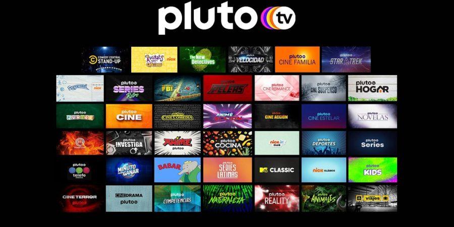 Pluto TV suma otros seis canales para todos los públicos
