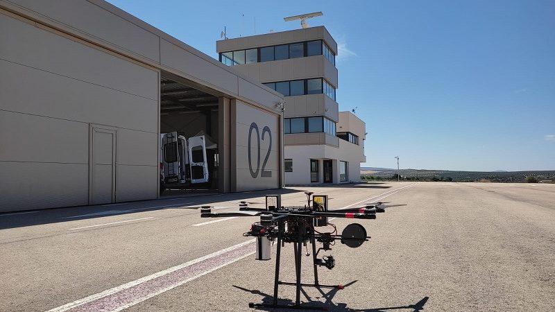 Villacarrillo, primer municipio con conectividad 5G gracias a un dron de Vodafone