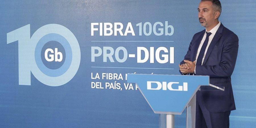 Digi rompe el mercado con Pro-Digi, su servicio de fibra de 10 Gbps