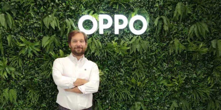 """Álvaro Galán (OPPO): """"El objetivo es acabar 2021 siendo el tercer fabricante de móviles en España con una cuota del 15%"""""""